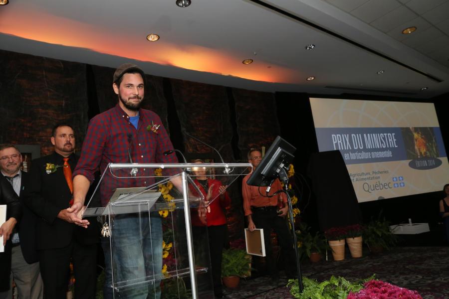 Prix du Ministre en horticulture 2014