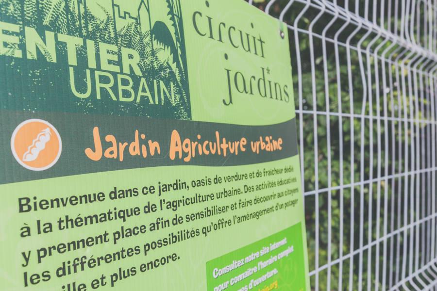 Agriculture urbaine - Circuits Jardins