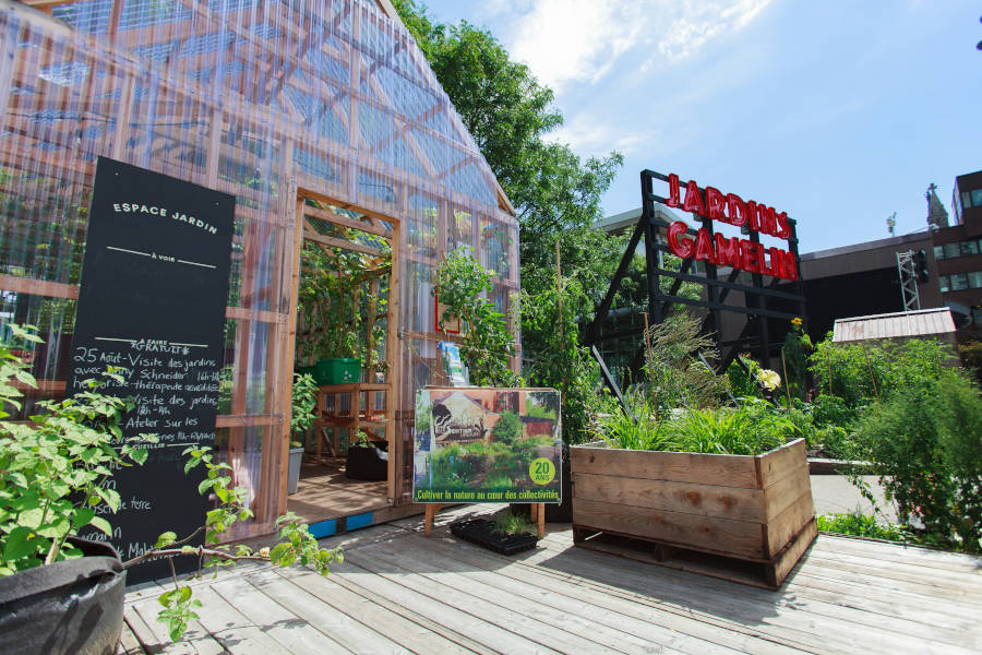 Serre des Jardins Gamelin été 2017